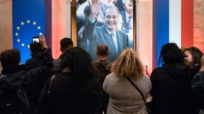 LIVESTREAM. Chirac (86) in besloten kring begraven bij zijn oudste dochter