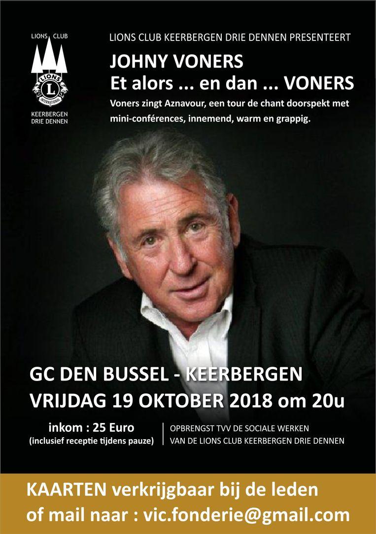 Lions Keerbergen Drie Dennen presenteert 'Et alors ..en dan..Voners'