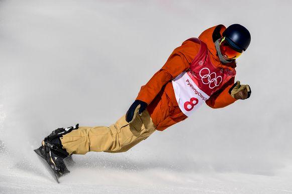 Smits op de Olympische Winterspelen.