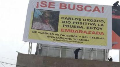 Carlos blokkeert Mexicaanse op Facebook, dus neemt zij drastische maatregelen om hem te informeren over ingrijpende gebeurtenis