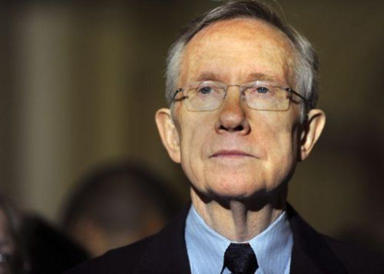 Harry Reid heeft zijn excuses aangeboden voor zijn uitspaken over de populariteit van president Obama. ANP Beeld