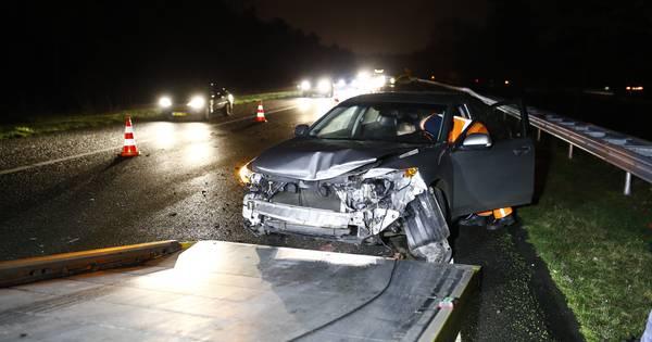 Uur vertraging door ongeluk op A28 tussen Wezep en t Harde.