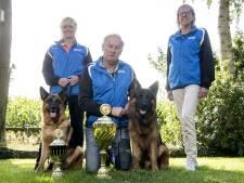 Duitse herder uit Overdinkel is wereldkampioen: 'Heb wat traantjes weggepinkt'