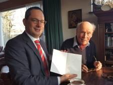 'Verhaal oorlogsheld Bram Grisnigt blijven doorvertellen', zegt Woensdrechtse burgemeester Adriaansen