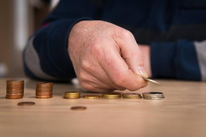 Mensen die rond moeten komen van een bijstandsuitkering zijn financieel superkwetsbaar. FOTO Roos Koole/ANP