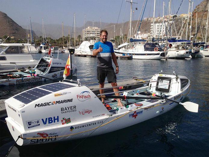 Wassenaar - Wassenaarder Mark Slats (40) zeilde drie keer solo de wereld rond en traint er nu voor om aan het einde van het jaar non-stop de Atlantische Oceaan over te roeien, een afstand van bijna 5.000 kilometer