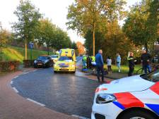 Vrouw op e-bike gewond na ongeluk met bestelbus in Amersfoort