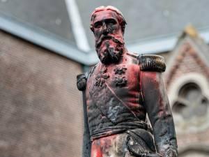 Plusieurs statues de Léopold II dégradées en Belgique
