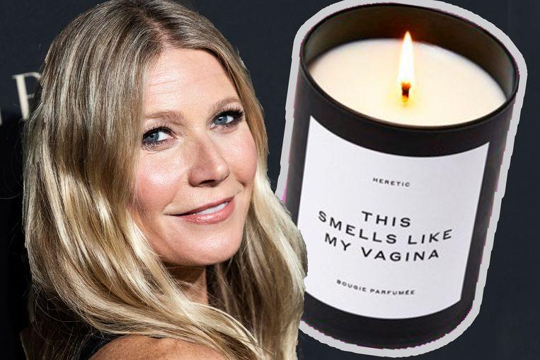 De peniskaars kwam op de markt naar aanleiding van Gwyneth Paltrow vagina variant.