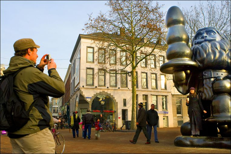 Kabouter Buttplug in Rotterdam Beeld anp