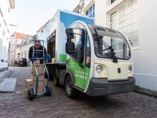 Binnenkort zoeven er alleen maar elektrische wagentjes door de Amersfoortse binnenstad om winkels te bevoorraden