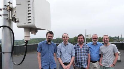 Gemeente en OCMW verbonden via straalverbinding