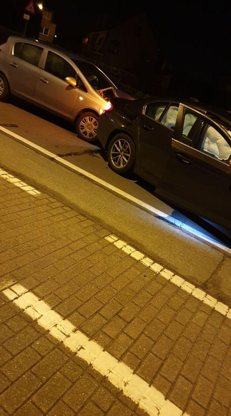 Het ongeval gebeurde op de brug in Uitbergen.
