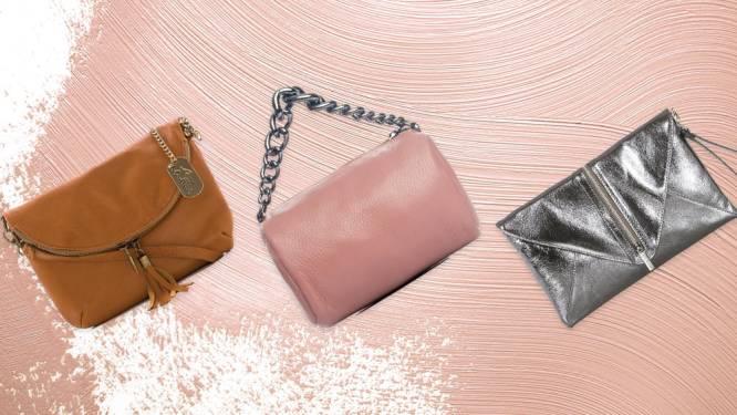 Deze handtassen scoor je voor minder dan 50 euro