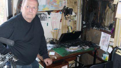 Brand verwoest muziekkamer drummer
