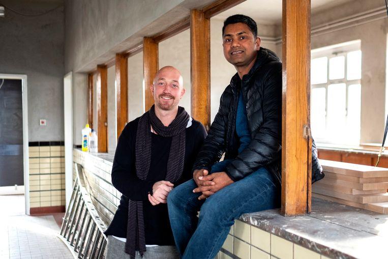 Nikolaj Kovdal en Sen Kulanthaivelu zullen het oude gebouw omtoveren tot visrestaurant met behoud van de originele elementen