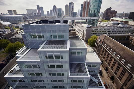 Het Timmerhuis in Rotterdam.
