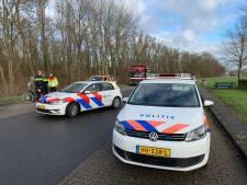 Vrouw van snelweg bij Rheden gehaald door politie: 'Ze wilde naar Arnhem fietsen'
