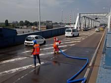 Bruggen in de regio niet meer open door de hitte