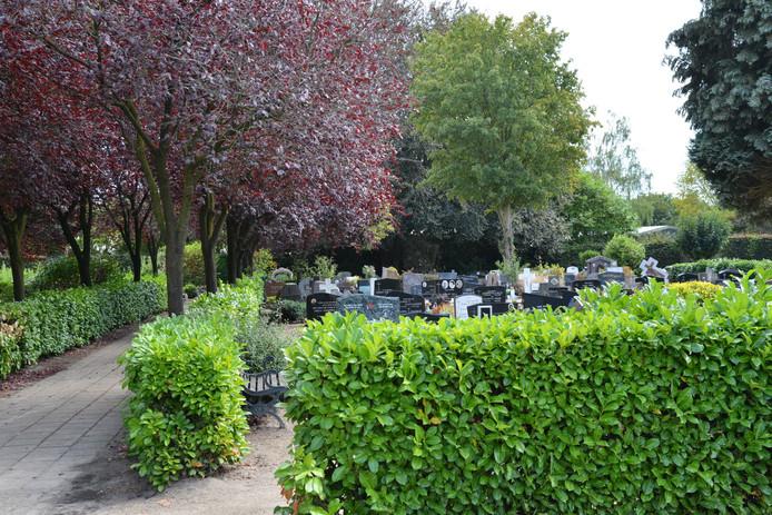 De begraafplaats in Breda.
