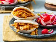 Wat Eten We Vandaag: Vegetarische rendang met verse korianderpita's en radijssalade