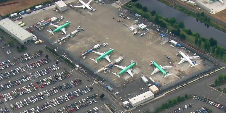 737 Max-vliegtuigen