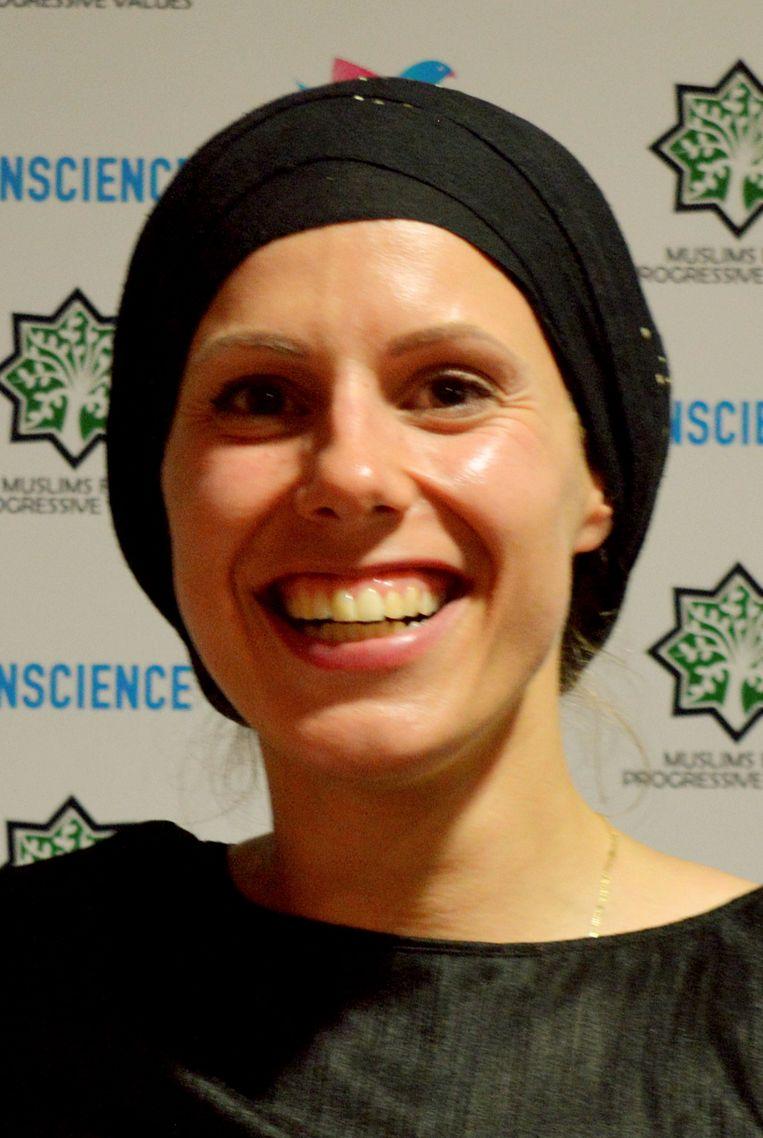 Fenna ten Berge, directeur van Muslims For Progressive Values Nederland.   Beeld RV