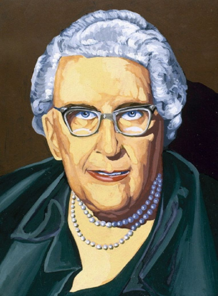 Agatha Christie. Beeld HH