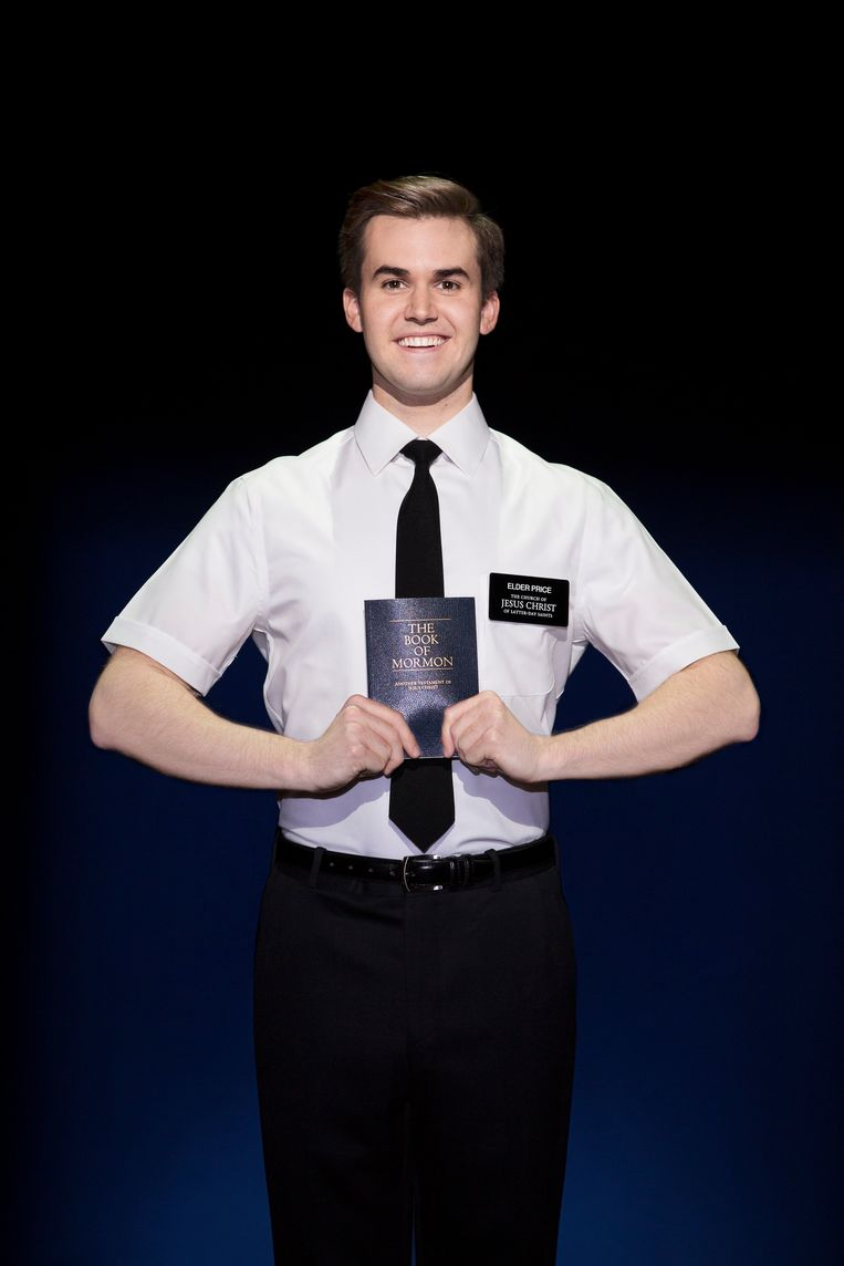 The Book of Mormon Beeld Julieta Cervantes
