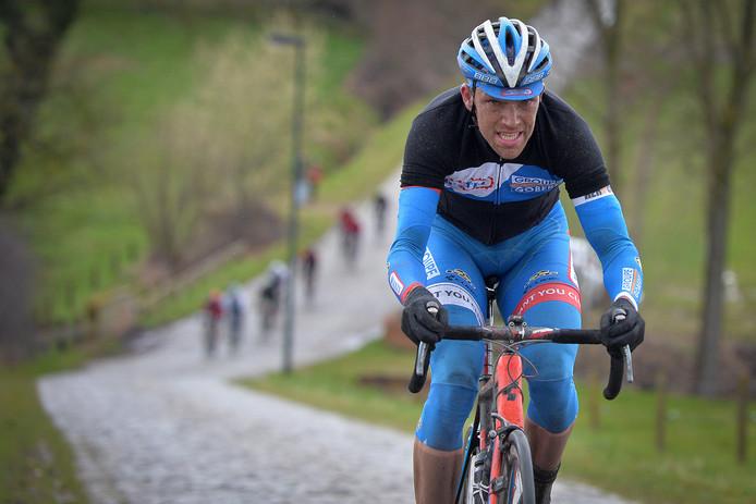 Frederik Veuchelen ion 2015 in Dwars Door Vlaanderen.