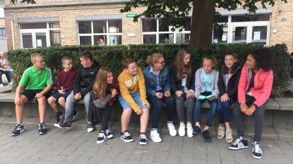 GSM-loze schooldag in Middenschool