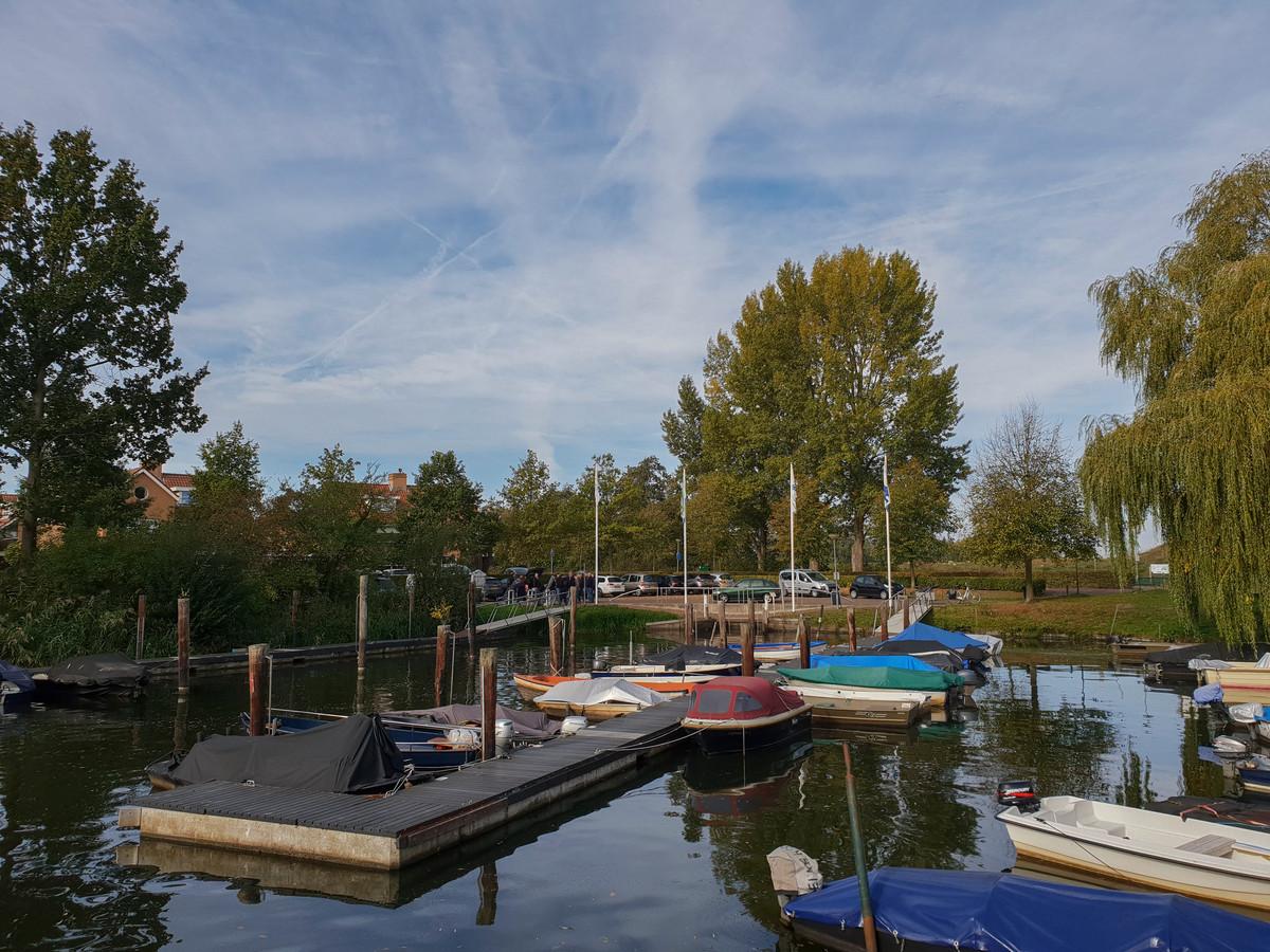 De haven van Terheijden.