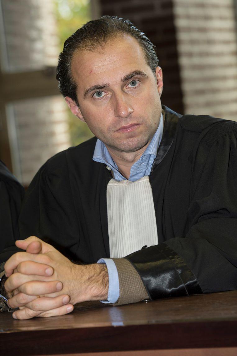 Advocaat Bert Partoens.