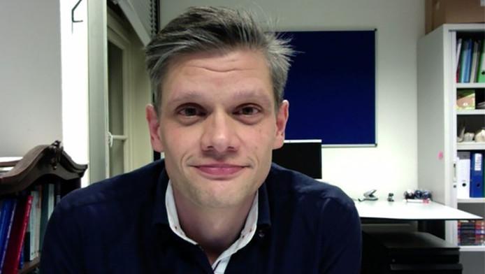 Onderzoeker Koen Sebregts van de Universiteit Utrecht
