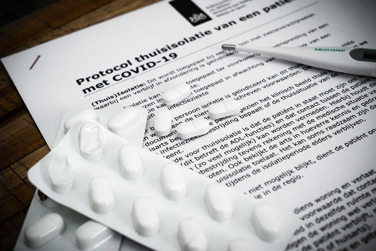 Het RIVM-protocol voor thuisisolatie van patiënten besmet met Covid-19 Beeld ANP