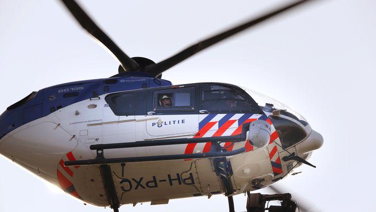 Een politiehelikopter. Beeld ANP