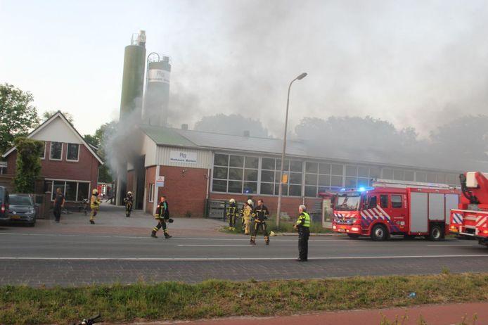 De brand aan de Rijssenweg in Enter