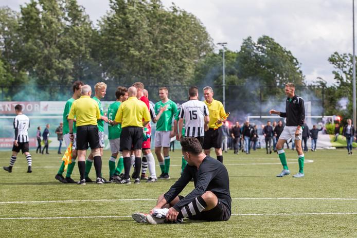 SLEEUWIJK , 8-6-2019 , VVAC - Oosterhout , Sportpark De Roef , 3e Klasse , Oosterhout verliest met 2-0