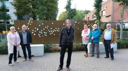 Nieuw kunstwerk aan begraafplaats heet 'Stil'