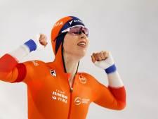 De Jong opnieuw Europees allroundkampioene, zilver voor Schouten