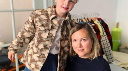 Anastasia maakt hippe kinderkleding op maat met overschotjes van Dries Van Noten of Essentiel