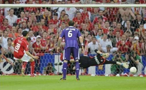 Witsel a transformé le penalty à la 39e pour donner la victoire au Standard.