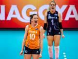 Volleybalsters in derde ronde WK tegen China en VS