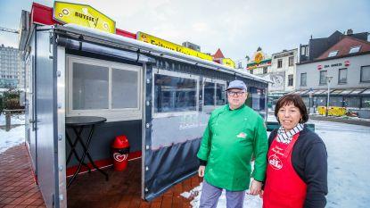 Net 100.000 euro geïnvesteerd in nieuwe frituur... en nu blijkt kraam, samen met twee andere, zonevreemd