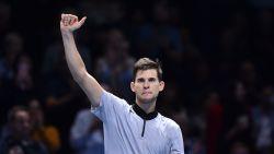 Thiem rekent af met Nishikori op ATP Finals, Anderson en Djokovic zeker van plek bij laatste vier