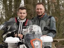 Geen motorreis door Afrika voor Ronald en Martijn, wel ritjes door Nederland: 'Het is bizar'