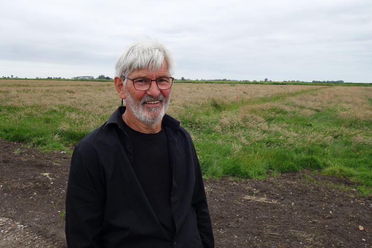 Ton Pieters, landschapsbeheerder in Waterland, Noord-Holland. Beeld