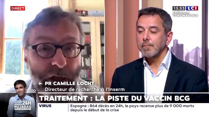 Le directeur de recherche à l'Inserm Jean-Paul Mira et le chef de service de l'hôpital Cochin Camille Locht.