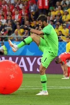 Ook valse start voor Brazilië tegen stug Zwitserland