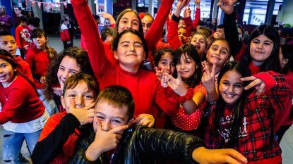 GO! basisschool Op Het Boseind feest met kinderfuif op Rode Neuzen Dag